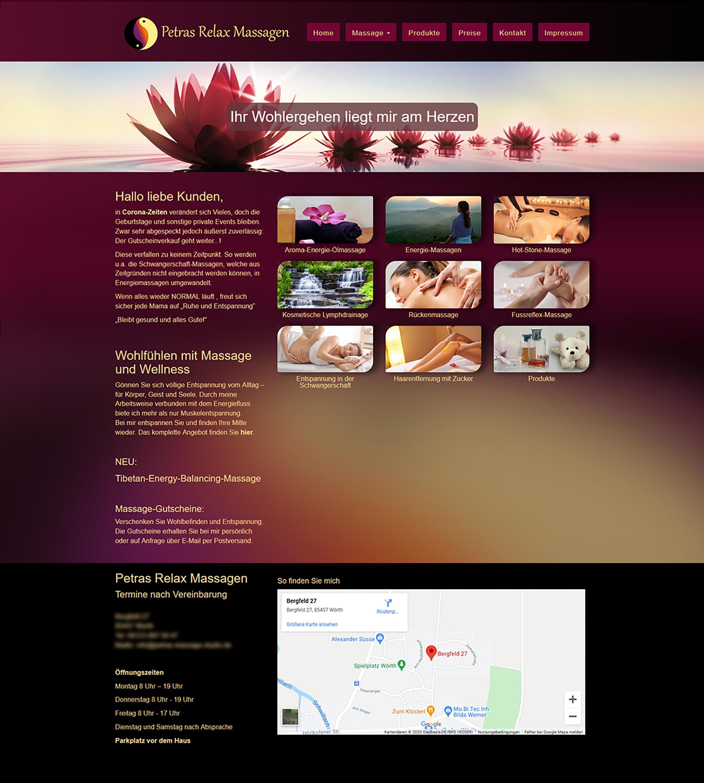 Projekt Massagestudio2-design-meets-web-web-grafik-print-werbetechnik-muenchen-markt schwaben