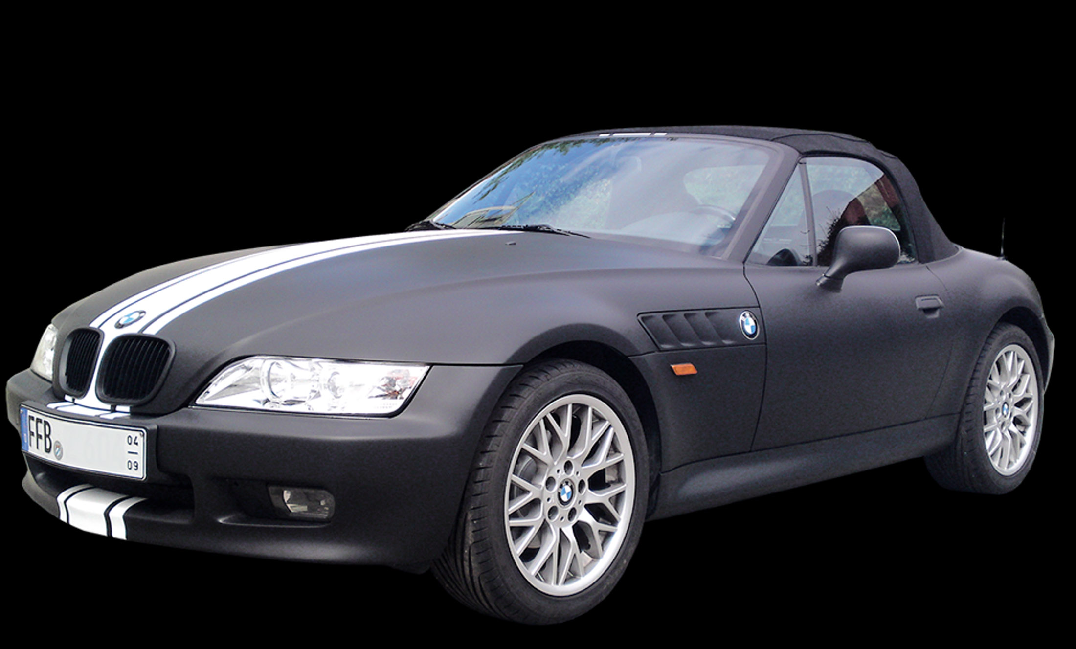 Projekt BMW Vollverklebung