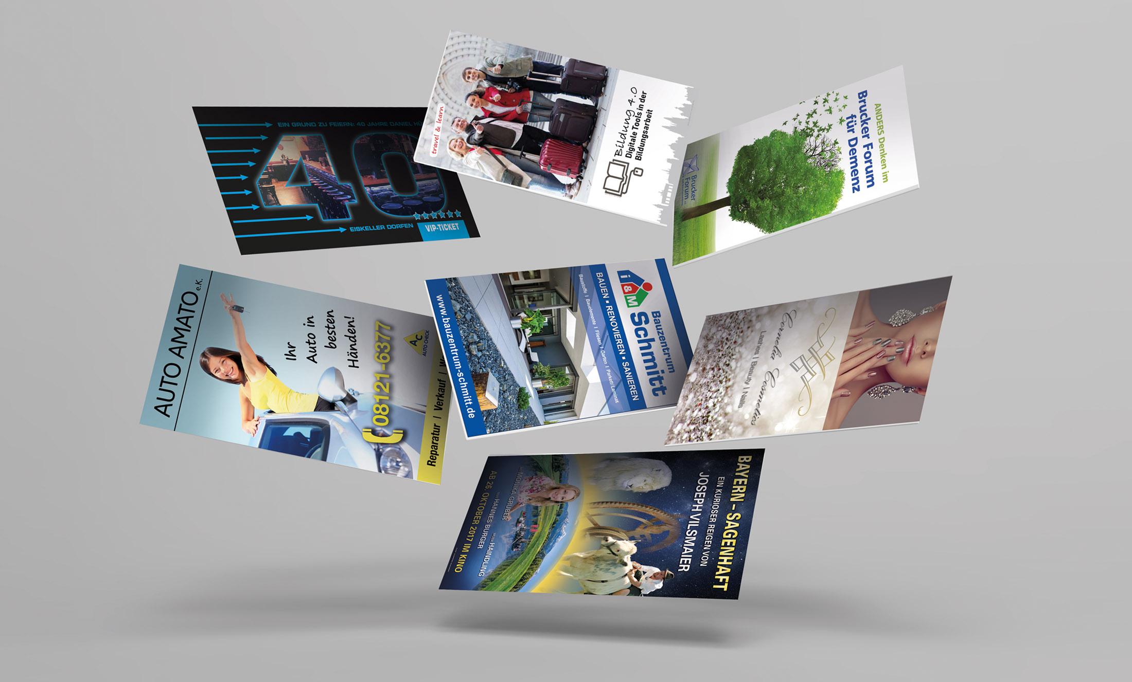 Flyer & Broschüren