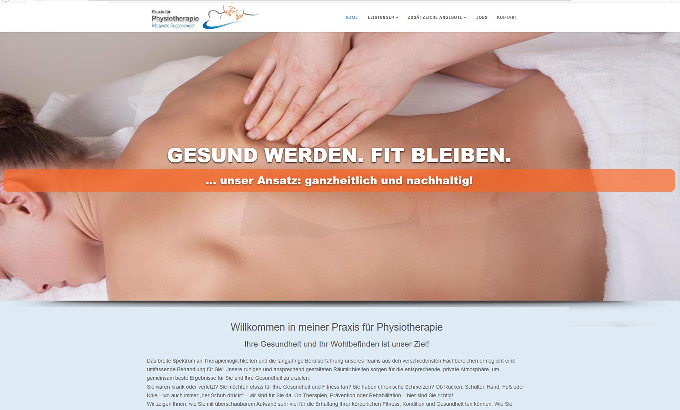 Projekt Physiotherapie