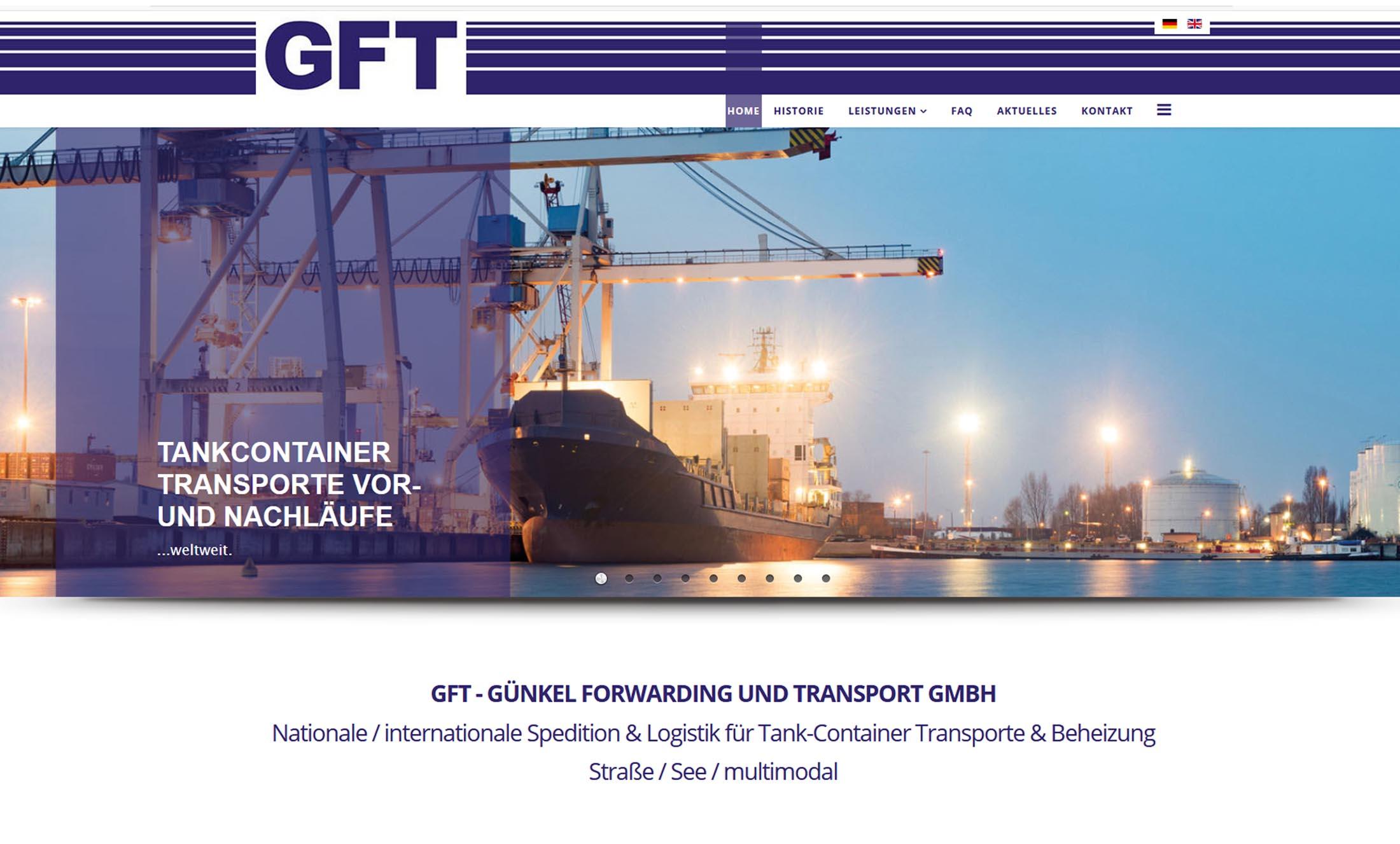 Projekt Transportunternehmen